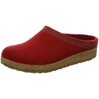 Schuhe Herren Hausschuhe Haflinger Grizzly Torben 713001-11 rubin Wolle 713001-11 rot
