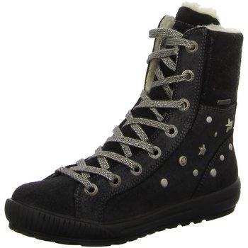 Schuhe Mädchen Boots Legero Schnuerstiefel . 3-00492-00 schwarz