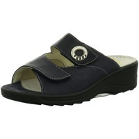 Schuhe Damen Pantoffel Fidelio Pantoletten 236011-89 blau