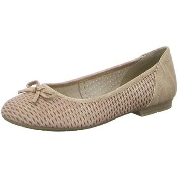 Schuhe Damen Ballerinas Jana Da.-Ballerina 8-8-22102-20-952 rosa