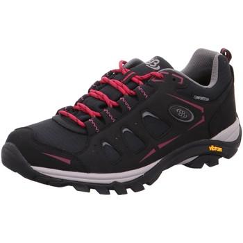 Schuhe Damen Wanderschuhe Brütting Sportschuhe 211186 schwarz