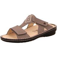 Schuhe Damen Pantoffel Finn Comfort Pantoletten Verin 2806-605421 grau