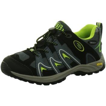 Schuhe Jungen Wanderschuhe Brütting Bergschuhe 421004 schwarz