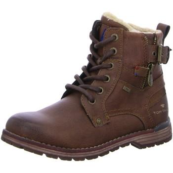 Schuhe Jungen Stiefel Supremo Schnuerstiefel Schnürstiefelette Warmfutter 1003379 braun