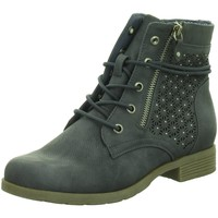 Schuhe Damen Stiefel Supremo Stiefeletten Schnürstf.Sp-Bod.KF 4822301 00270 blau