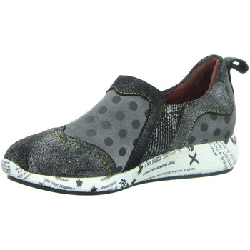 Schuhe Damen Slip on Laura Vita Slipper Burton 02-3/3 grau