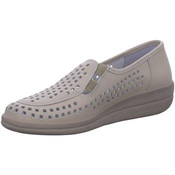 Schuhe Damen Slipper Longo Slipper Komfort Slipper 3074448-5 beige