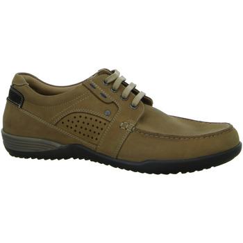 Schuhe Herren Slipper Longo Schnuerschuhe SHS bequ.Sp-Boden 1006990 3 braun