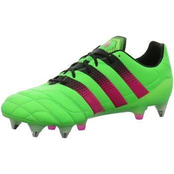 Schuhe Herren Fußballschuhe adidas Originals Sportschuhe ACE 16.1 SG Leather AQ5387 grün