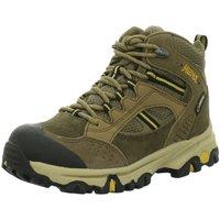 Schuhe Jungen Wanderschuhe Meindl Bergschuhe Tampa Junior Mid GTX 2034 010 braun