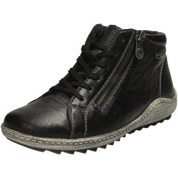 Schuhe Damen Boots Remonte Dorndorf Stiefeletten R1470-01 schwarz