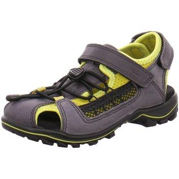 Schuhe Jungen Sportliche Sandalen Ecco Trekkingsandalen  URBAN SAFARI KIDS 732152/59748 grau