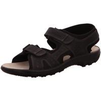 Schuhe Damen Sportliche Sandalen Jomos Offene Orlando 504609 86-000 schwarz
