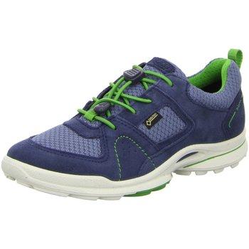 Schuhe Jungen Fitness / Training Ecco Hallenschuhe Kids 764632/51142 blau