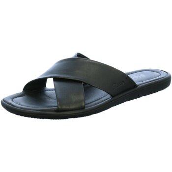 Schuhe Herren Pantoffel Sioux Offene Minago 30880 Lamm-Nappa 30880 schwarz