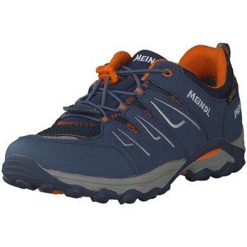 Schuhe Damen Wanderschuhe Meindl Bergschuhe Alon Junior GTX 2104 049 blau
