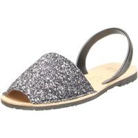 Schuhe Damen Sandalen / Sandaletten Ria Sandaletten 21224-S2 PLOMO schwarz