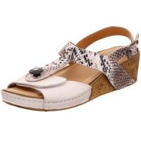 Schuhe Damen Sandalen / Sandaletten Baboos Sandaletten herausnehmbares Fußbett ! PLM38-T02B-W-WL23 weiß