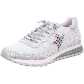 Schuhe Damen Sneaker Low Cetti C-1130 -bianco grau
