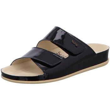 Schuhe Damen Pantoffel Vital Pantoletten 09582399 schwarz