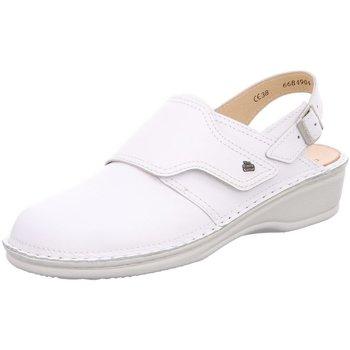 Schuhe Damen Pantoletten / Clogs Finn Comfort Komfort ASSUAN 2525 weiß