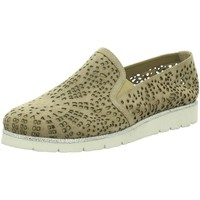 Schuhe Damen Ballerinas Julia Grey Slipper 541-1/1 beige