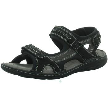 Schuhe Herren Sportliche Sandalen Longo Offene Beq. Sandale.Wörishf 1006885 schwarz