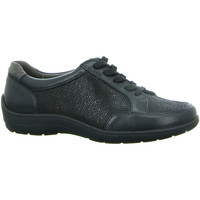 Schuhe Damen Derby-Schuhe Longo Schnuerschuhe 1005441 1005441 schwarz