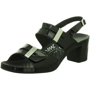 Schuhe Damen Sandalen / Sandaletten Vital Komfort 0506-23-99 schwarz