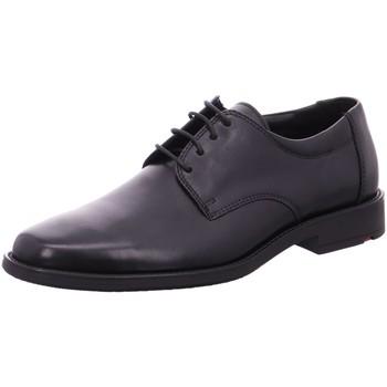 Schuhe Herren Derby-Schuhe Lloyd Business Schnürhalbschuh NEVIO 25-654-00 schwarz