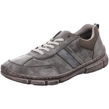Schuhe Herren Arbeitsschuhe Rieker Schnuerschuhe 13720-45 grau