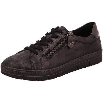 Schuhe Damen Sneaker Low Remonte Dorndorf Schnuerschuhe D5800-45 schwarz