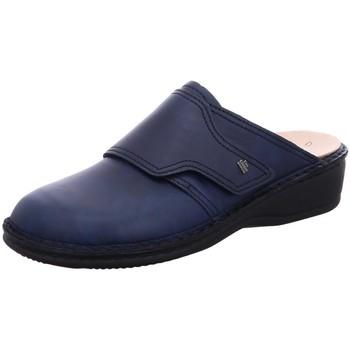 Schuhe Damen Pantoletten / Clogs Finn Comfort Pantoletten AUSSEE 02526-060048 blau