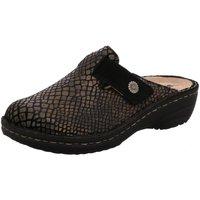 Schuhe Damen Pantoletten / Clogs Rohde Pantoletten 6170/90 schwarz