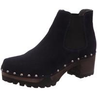 Schuhe Damen Stiefel Softclox Stiefeletten 3358 ISABELLE OCEAN blau