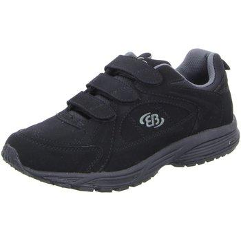 Schuhe Herren Sneaker Low Brütting Slipper NV 191175 - schwarz