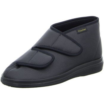 Schuhe Herren Hausschuhe Fischer Schuhe NV 13995-222 schwarz