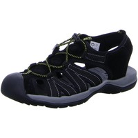 Schuhe Herren Sportliche Sandalen Diverse Offene LUCCA UNI Trekkingsandale 132801 9505 LUCCA UNI schwarz