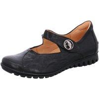 Schuhe Damen Ballerinas Think Slipper BESSA 03 84072-00 schwarz