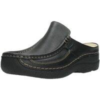 Schuhe Damen Pantoletten / Clogs Wolky Pantoletten 6202700 blk schwarz