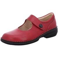 Schuhe Damen Ballerinas Finn Comfort Slipper LAVAL rot