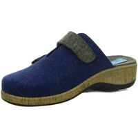 Schuhe Damen Hausschuhe Fidelio SOFT-LINE D-CLOG 255001 09 (G) blau