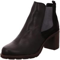 Schuhe Damen Stiefel Macakitzbühel Stiefeletten 2381 schwarz