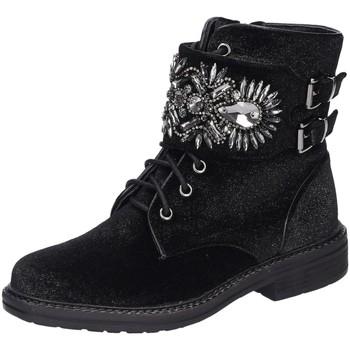 Schuhe Damen Stiefel Alma En Pena Stiefeletten I18395-136 schwarz