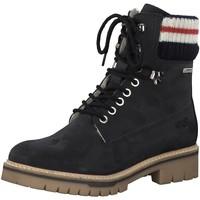 Schuhe Damen Wanderschuhe Tamaris Stiefeletten 1-1-26083-31/805 blau