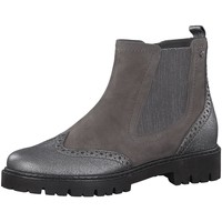 Schuhe Damen Stiefel Jana Stiefeletten Woms Boots 8-8-25400-21/231 grau