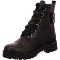 Schuhe Damen Stiefel Baboos Stiefeletten 2001-100 schwarz