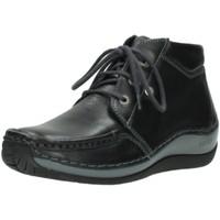 Schuhe Damen Boots Wolky Schnuerschuhe Sensation 4826-001 schwarz