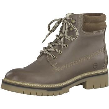 Schuhe Damen Wanderschuhe Tamaris Stiefeletten Da.-Stiefel 1-1-26253-21 453 beige
