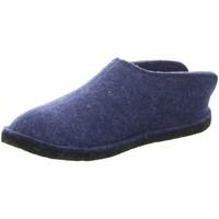 Schuhe Herren Hausschuhe Haflinger Flair Smily 311013 blau